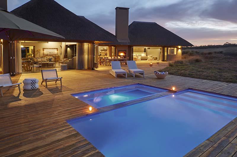 Ulubisi House Pool Area